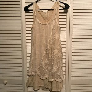 Lace swing dress 👗
